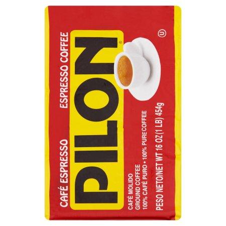 Cafe Pilon Espresso Ground Coffee, 16 oz