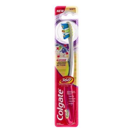 Colgate 360 4 Zone Soft Toothbrush
