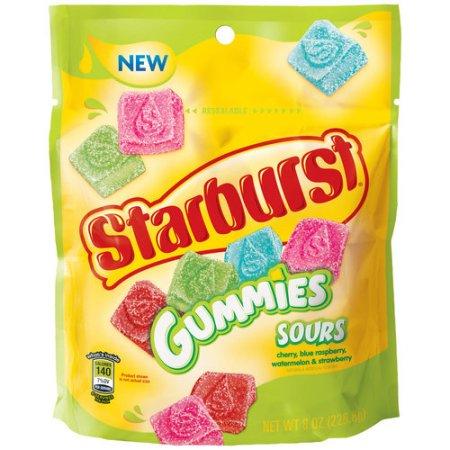 Starburst Sours Gummies Candy, 8 oz