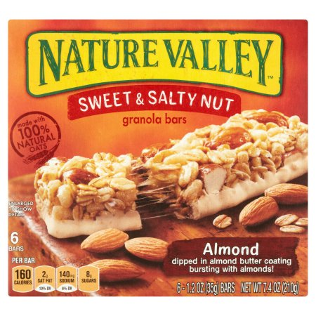 Nature Valley™ Almond Sweet & Salty Nut Granola Bars 6 ct Box
