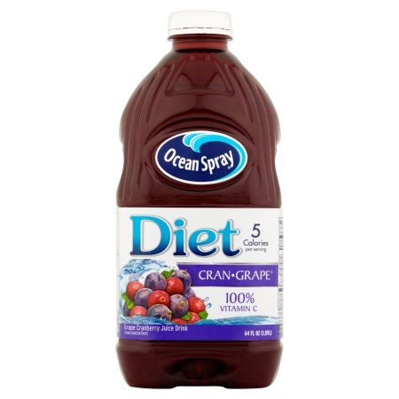 Ocean Spray Diet Cran-Grape Juice, 64.0 FL OZ