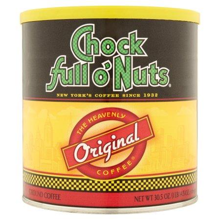 Chock full of Nuts The Heavenly Coffee Original Ground Coffee, 30.5 oz