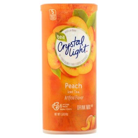 Crystal Light Sugar Free Peach Iced Tea Mix, 1.5 Oz