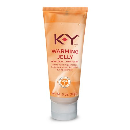 K-Y Warming Jelly Personal Lubricant, 5.0 Ounce