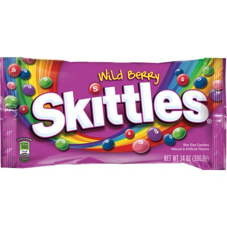 Skittles Wild Berry Candy Bag, 14 ounce