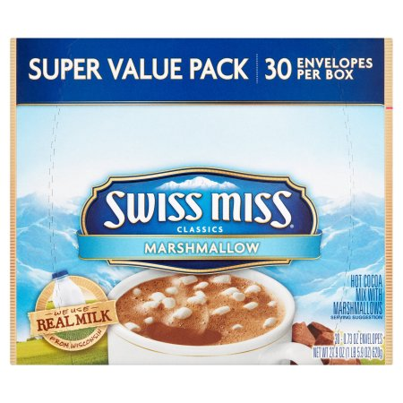 Swiss Miss® Classics Hot Cocoa Mix WIth Marshmallows Super Value Pack 30 ct Box