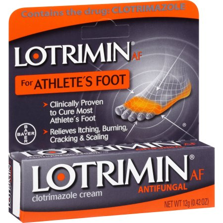 Lotrimin AF Antifungal Athlete's Foot Clotrimazole Cream, 0.42 oz