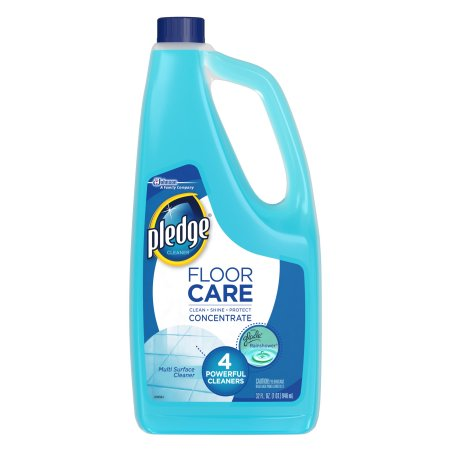 Pledge FloorCare Multi Surface Concentrated Cleaner with Glade Rainshower 32 Ounces.