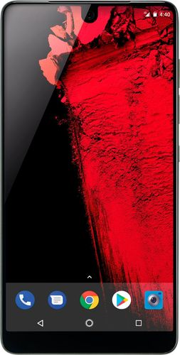 Essential - Essential Phone 4G LTE with 128GB Memory Cell Phone (Unlocked) - Black Moon