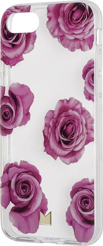 Modal - Clear Protective Case for Apple® iPhone® 8 - Clear with Pink Roses