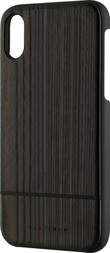 Platinum - Wood Case for Apple® iPhone® X and XS - Burnt Wood