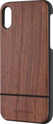 Platinum - Wood Case for Apple® iPhone® X and XS - Walnut Wood