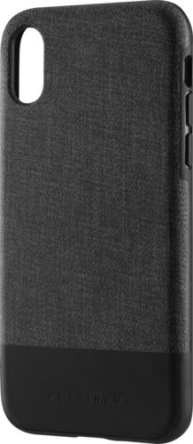 Platinum - Case for Apple® iPhone® X and XS - Black/Gray