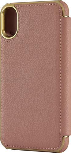 Platinum - Folio Wallet Case for Apple® iPhone® X and XS - Deep Pink
