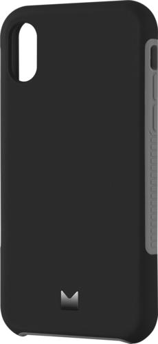 Modal - Dual Layer Case for Apple® iPhone® X and XS - Black and Gray