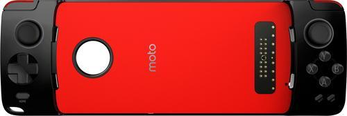 Motorola - Moto Mod Gamepad Case for Select Moto Cell Phones - Black