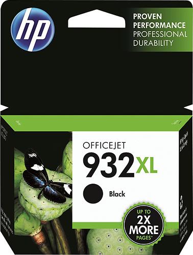 HP - 932XL High-Yield Ink Cartridge - Black
