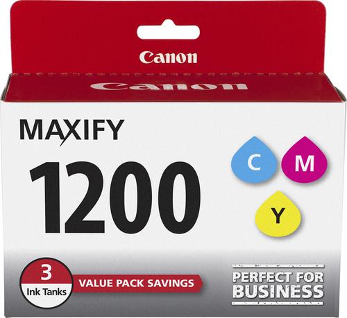 Canon - PGI-1200 3-Pack Ink Cartridges - Cyan/Magenta/Yellow