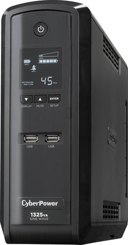 CyberPower - 1325VA Sine Wave Battery Back-Up System - Black