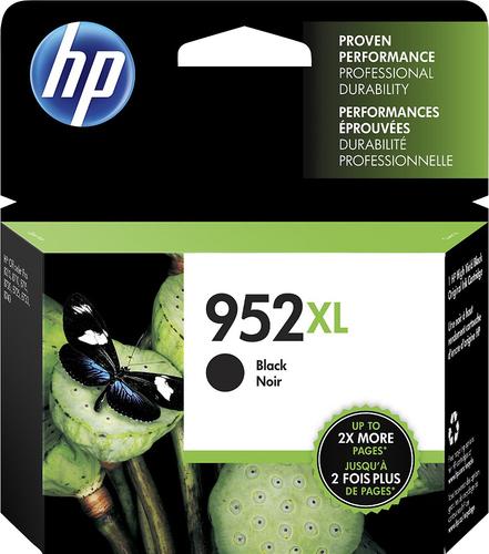 HP - 952XL Ink Cartridge - Black