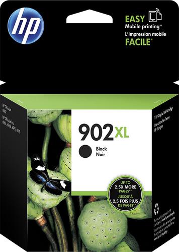 HP - 902XL High-Yield Ink Cartridge - Black
