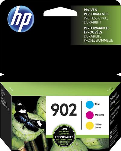 HP - 902 3-pack Ink Cartridges - Cyan/ Magenta/ Yellow