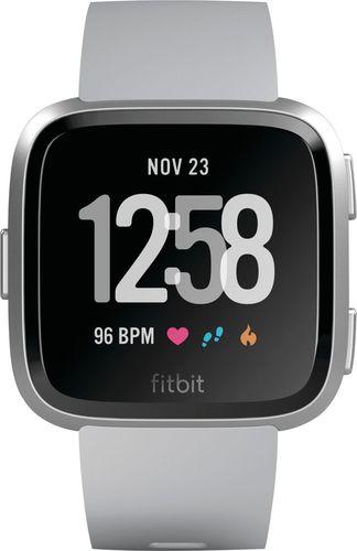Fitbit - Versa - Gray/Silver