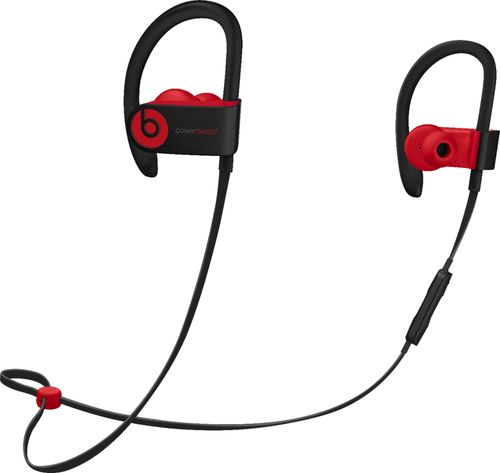 Beats by Dr. Dre - Powerbeats³ Wireless Earphones - The Beats Decade Collection - Defiant Black-Red