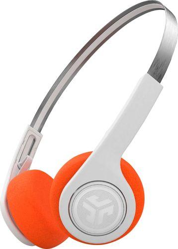JLab Audio - Rewind Retro Wireless On-Ear Headphones - White