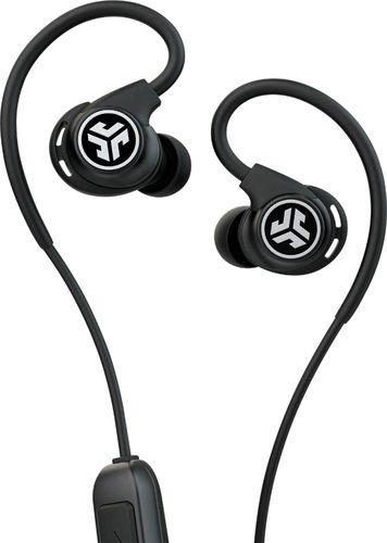 JLab Audio - Fit Sport Fitness Earbuds Wireless In-Ear Headphones - Black