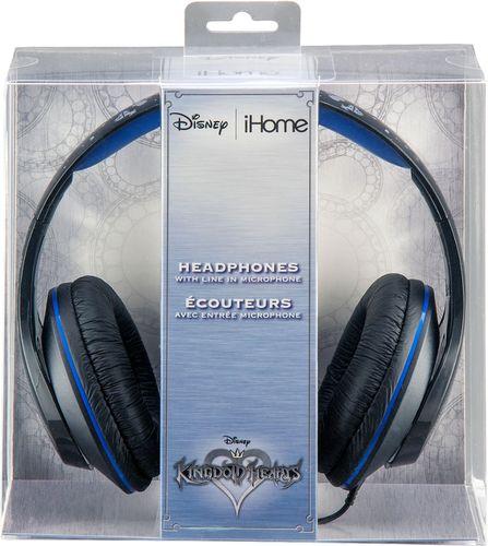 iHome - Disney Kingdom Hearts Over-the-Ear Headphones - Blue/Black