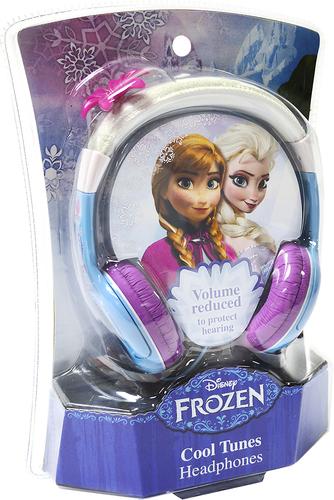 eKids - Frozen Over-the-Ear Headphones - White/Purple/Blue