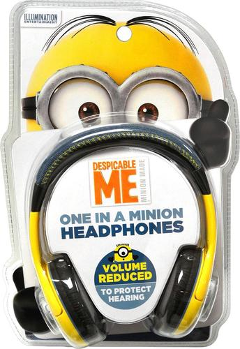 KIDdesigns - Minions Over-the-Ear Headphones - Blue/White/Pink
