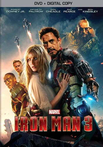 Iron Man 3 [Includes Digital Copy] [DVD] [2013]