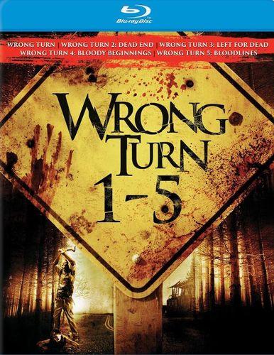 Wrong Turn 1-5 [5 Discs] [Blu-ray]