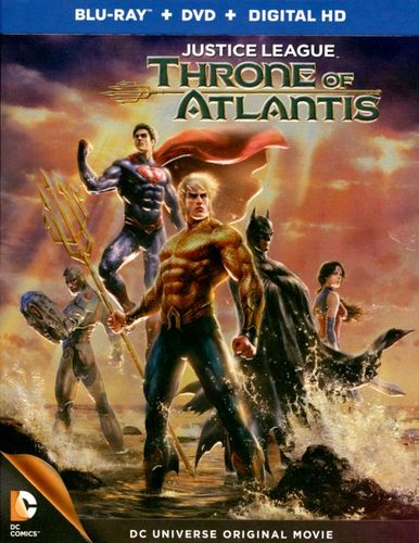 Justice League: Throne of Atlantis [Blu-ray] [2015]