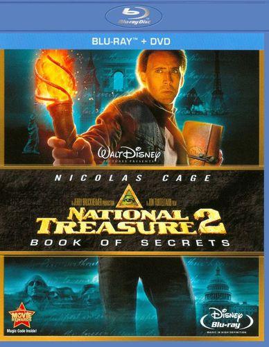 National Treasure 2: Book of Secrets [2 Discs] [Blu-ray/DVD] [2007]