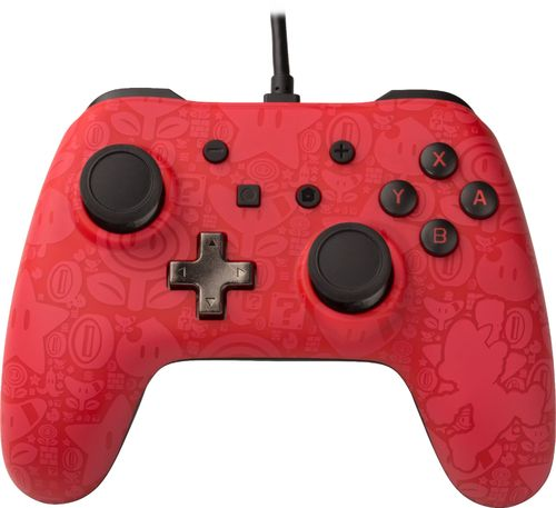 PowerA - Super Mario Edition Controller for Nintendo Switch - Red