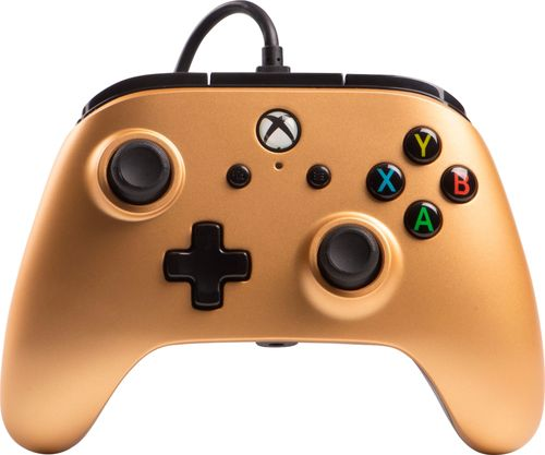 PowerA - Enhanced Wired Controller for Xbox One - Gold
