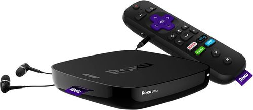 Roku - Ultra Streaming Media Player - Black