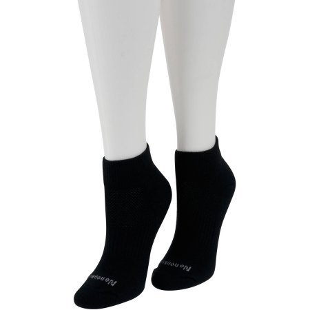 No Nonsense Women's BREATHE Cushion Ankle Socks, 3pk