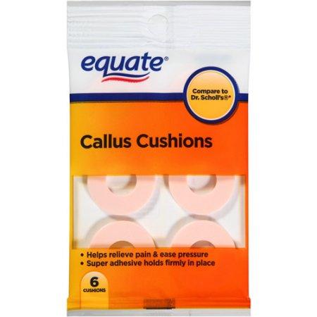 Equate Callus Cushions, 6 count