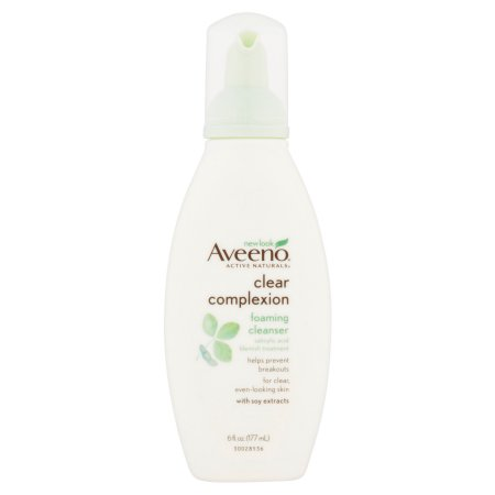 Aveeno Active Naturals Clear Complexion Foaming Cleanser 6fl oz