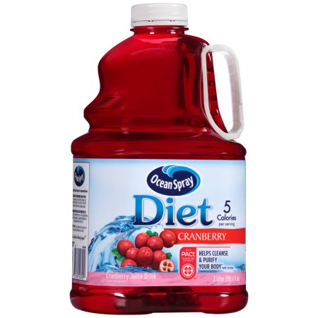 Ocean Spray Diet Cranberry Juice, 101.4 FL OZ