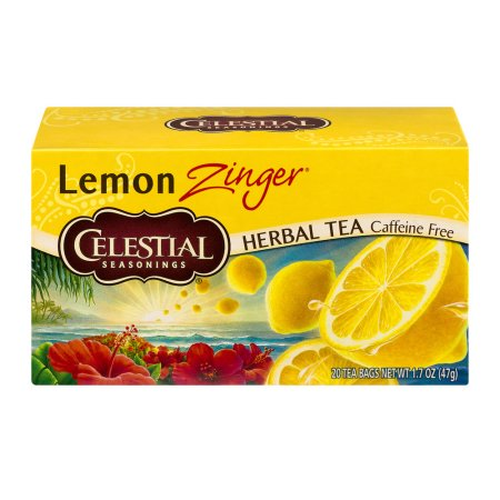 Celestial Seasonings Tea Lemon Zinger - 20 CT