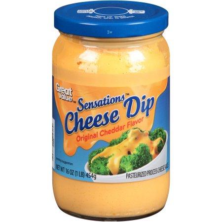 Great Value Sensations Original Cheddar Cheese Dip, 16 oz