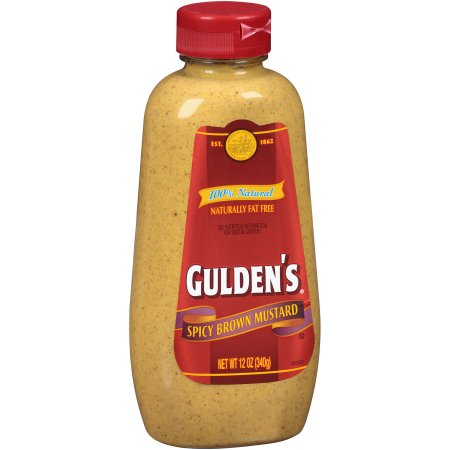 Gulden's® Spicy Brown Mustard 12 oz. Bottle