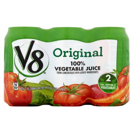 V8 Original 100% Vegetable Juice 11.5oz 6 pack