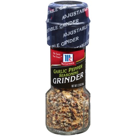 McCormick® Garlic Pepper Seasoning Grinder, 1.23 oz. Bottle