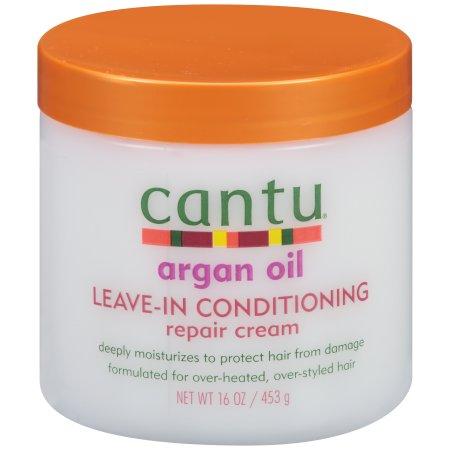 Cantu Argan Oil Leave-In Conditioning Repair Cream, 16 oz.